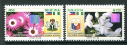 Nigeria 2013 Flora - Joint Issue With The Philippines Set MNH - Nigeria (1961-...)