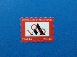 2007 ITALIA CASA EDITRICE MONDADORI FRANCOBOLLO NUOVO STAMP NEW MNH** - 1946-.. République