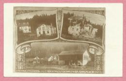 54 - THIAVILLE Sur MEURTHE - Carte Photo Allemande - Maison Forestière - Villa - Scierie - Guerre 14/18 - 2 Scans - Unclassified