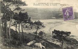 -dpts Div-ref-AN720- Finistère - Plougasnou - Environs - Plage Du Guerit - - Plougasnou