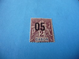 TIMBRE  GABON     N  66      COTE 1,50  EUROS    NEUF  TRACE  CHARNIÈRE - Gabon (1886-1936)