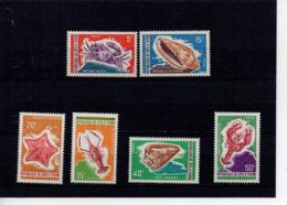 Côte D'Ivoire YT 312-317 XX / MNH Crustacée Animal Wildlife - Côte D'Ivoire (1960-...)