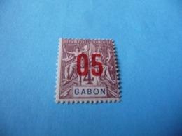 TIMBRE  GABON     N  67      COTE 1,30  EUROS    NEUF  TRACE  CHARNIÈRE - Gabon (1886-1936)