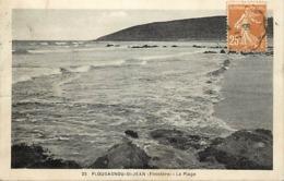 -dpts Div-ref-AN719- Finistère - Plougasnou - St Jean - St Jean - La Plage - Carte Bon Etat - - Plougasnou