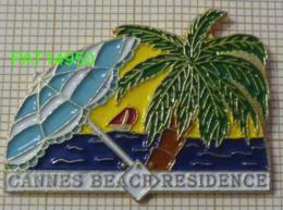 CANNES BEACH RESIDENCE  PALMIER PARASOL PLAGE VOILIER  Dpt 06 ALPES MARITIMES - Steden