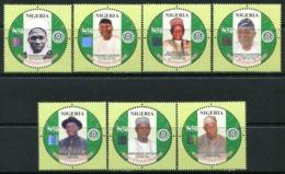 Nigeria 2014 Centenary Anniversary Set MNH - Nigeria (1961-...)