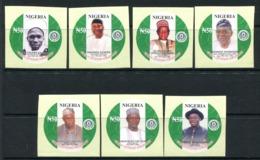Nigeria 2014 Centenary Anniversary Imperf. Set MNH - Nigeria (1961-...)