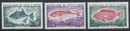 Côte D'Ivoire YT 354-356 XX / MNH Poisson Fish Animal Wildlife - Côte D'Ivoire (1960-...)