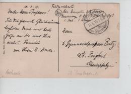 CBPN11/ CP Lombartzyde Av.de La Reine (Les Villas) C.K.D.Feldpost Marine Korps 1915 > Allemagne - Weltkrieg 1914-18