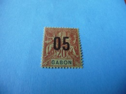 TIMBRE  GABON     N  69      COTE 1,20  EUROS    NEUF  TRACE  CHARNIÈRE - Gabon (1886-1936)