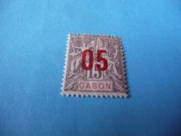 TIMBRE  GABON     N  68      COTE 1,30  EUROS    NEUF  TRACE  CHARNIÈRE - Gabon (1886-1936)