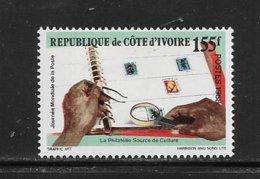 COTE D'IVOIRE ( CDIV - 180 ) 1988 N° YVERT ET TELLIER   N° 815  N* - Côte D'Ivoire (1960-...)