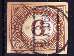 Österreich Austria Autriche - Portomarken/taxe (MiNr: 15) 1899 - Gest Used Obl - Strafport