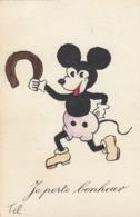 CPA (illustrateur)   TIL Mickey Je Porte Bonheur ( B Bur Illu) - Illustratori & Fotografie