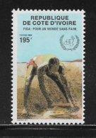 COTE D'IVOIRE ( CDIV - 181 ) 1988 N° YVERT ET TELLIER   N° 802  N* - Côte D'Ivoire (1960-...)