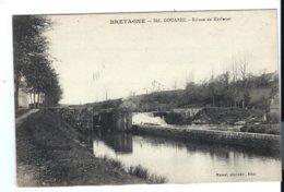 PLÉLAUFF En GOUAREC - écluse De Kerlouet - Canal Nantes Brest (Mancel éditeur, Vers 1910) - VENTE DIRECTE X - France