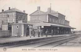 Gembloux - Vue Intérieure De La Gare - Circulé En 1912 - Animée - TBE - Gembloux