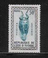 COTE D'IVOIRE ( CDIV - 185 ) 1960 N° YVERT ET TELLIER   N° 188  N* - Côte D'Ivoire (1960-...)