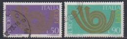 Europa Cept 1973 Italy 2v Used (45150F) - Europa-CEPT