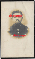 Oorlog Guerre Hector Francois Oorderen Rijkswacht Gendarm Gesneuveld Te Elverdinge 1918  Woonde Bornem Gendarmerie - Images Religieuses
