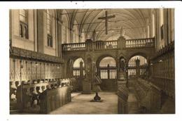 CPA-Carte Postale-Belgique-Westmalle Abbaye Cistercienne-Choeur Des Pères à L'Eglise VM8795 - Malle