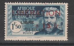 LOT  11  A.O.F N° 182 * - A.E.F. (1936-1958)