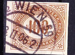 Österreich Austria Autriche - Portomarken/taxe (MiNr: 21) 1899 - Gest Used Obl - Postage Due