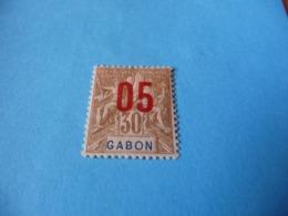 TIMBRE  GABON     N  71      COTE 0,90  EUROS    NEUF  TRACE  CHARNIÈRE - Gabon (1886-1936)