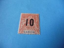 TIMBRE  GABON     N  72      COTE 1,50  EUROS    NEUF  TRACE  CHARNIÈRE - Gabon (1886-1936)