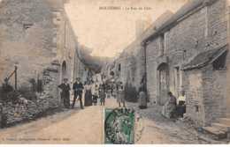 89. N° 104054 .molesmes .la Rue Du Clos .villageois . - Brienon Sur Armancon