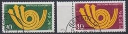 Europa Cept 1973 Germany 2v Used (45151A) - Europa-CEPT