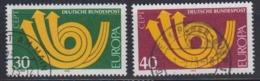 Europa Cept 1973 Germany 2v Used (45151B) - Europa-CEPT