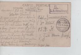 CBPN14/ CP Zeebrugge - Le Phare Càp. Brügge 7/2/15 + C.S.B.L.B.Strassburg > Allemagne - Deutsche Armee