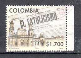 """Colombia 2011 Mi Nr 2712, Krant  """"El Catolicismo"""" - Colombia"""