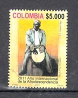 Colombia 2011 Mi Nr 2741, Muziek, Music, Trommelaar - Colombia