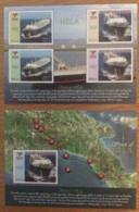 Papua New Guinea-2014 Spirit Of |heal 2 Minisheets MNH - Ships