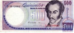 Venezuela P.67 500 Bolivares 1995  Au+ - Venezuela