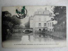 AUVERS SAINT GEORGES - Château De Gravelles Et Le Canal - France