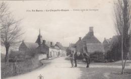 La CHAPELLE HUGON : Entrée Du Bourg - Petite épidermure - Sans Doute Recollée. - Other Municipalities