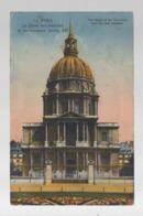 CP27162 - Paris - Le Dôme Des Invalides Et Les Nouveaux Jardins - Ecrite - Autres Monuments, édifices