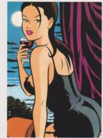 MINUS Walter  - Bande Dessinée Femme Pin Up Vin Rouge   - CPM 10,5x15 TBE 2002 - Illustrators & Photographers