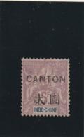 Canton N° 48 Charniére Tirage 4400 Fraicheur Postale - Tahiti (1882-1915)