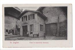 23563 - St-Légier Chez Le Maréchal Ferrant  Ane Avec Couverture Marcel Rime Blonay - VD Waadt