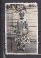 AFRIQUE PHOTO 8.5CM*13.5CM ETHONOGRAPHIE  DANSEUR - Non Classés