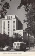 """RP: Orasul Stalin - Hotelul """"Carpati"""" , Romania , 1961 - Rumänien"""