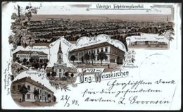 Serbia / Hungary: Fehértemplom (Bela Crkva / Weißkirchen), LITHO 1898 - Serbia