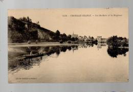 CP29178 - Chenillé-Changé - Les Rochers Et La Mayenne - Ecrite - France