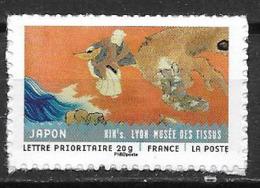 France 2011 Timbre Adhésif Neuf N°520A Tissus Japonais à La Faciale - KlebeBriefmarken