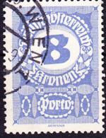 Österreich Austria Autriche - Portomarken/taxe (MiNr: 90 X) 1921 - Gest Used Obl - Strafport