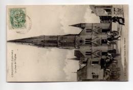 CP29260 - Carquefou - La Place De L'Eglise - Voyagée - Carquefou